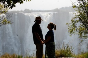 Bobby and Becky Bonner in Africa