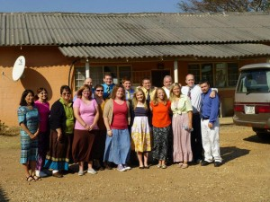 The Missions Team in Zambia