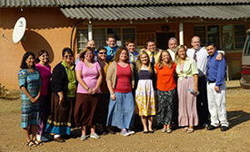 The FBBC Zambia Team 2012