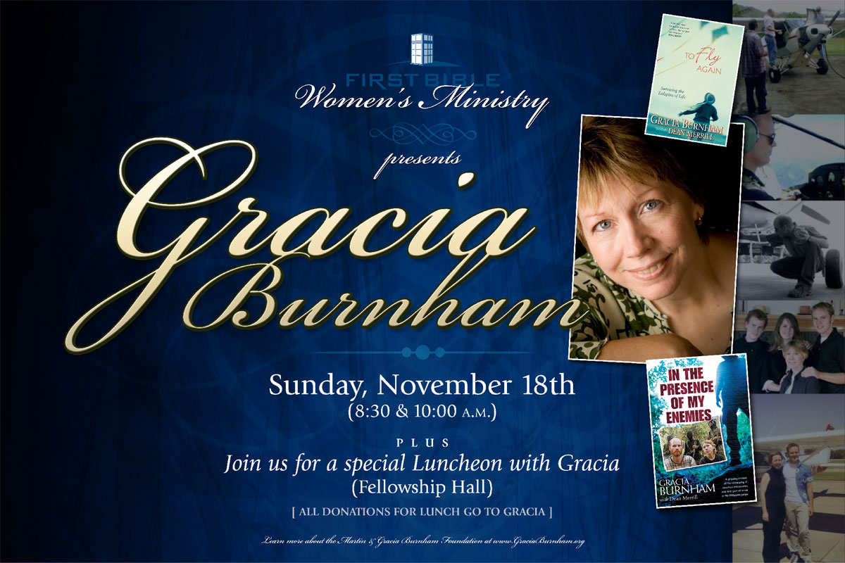 Gracia Luncheon Banner