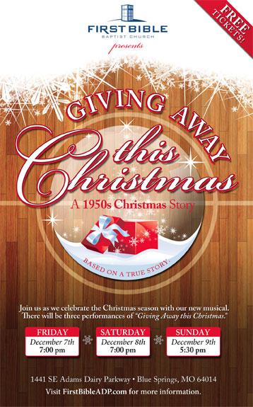 Giving Away This Christmas Musical Production
