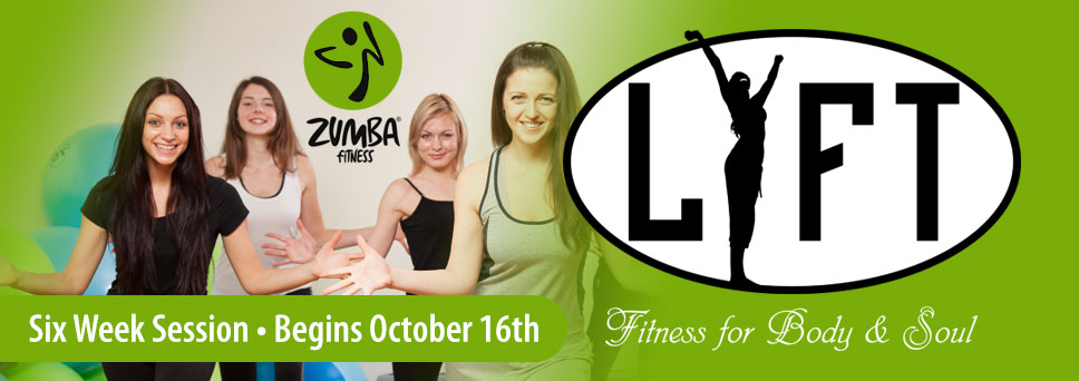 Sign up for LIFT Zumba Class beginning October 16th