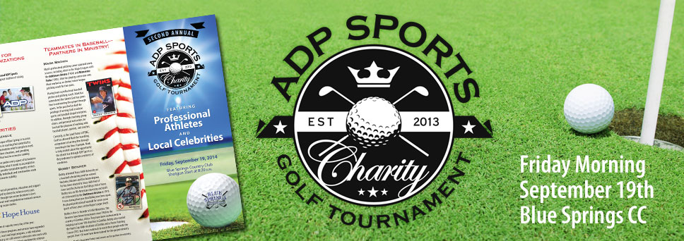 Join us for another charity golf tournament!
