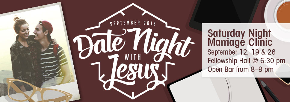 Join us for Date Night with Jesus