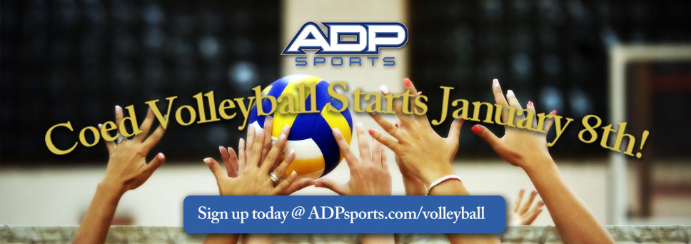 Register for Coed Volleyball!