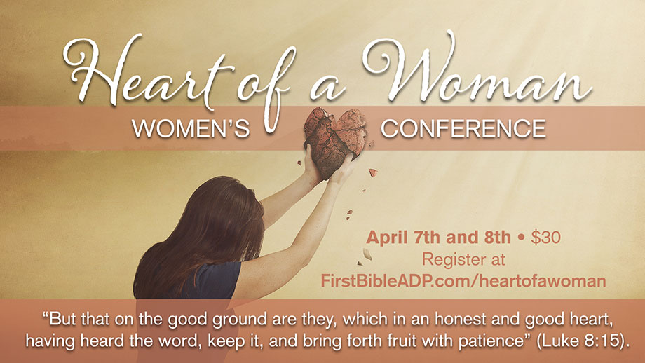 Register for Heart of a Woman Conference