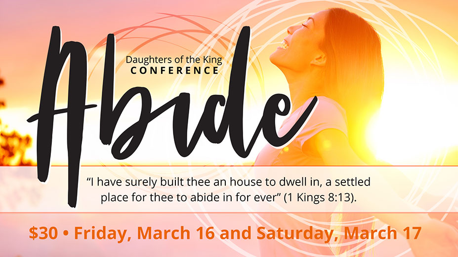 Register for the Daughters of the King Conference
